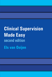 Clinical Supervision Made Easy: a creative and relational approach for the helping professions