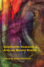 Qualitative Research in Arts and Mental Health: Context, meaning and evidence