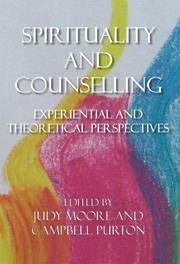 Spirituality and Counselling Experiential and theoretical perspectives